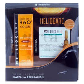 HELIOCARE GEL OIL FREE BRONZE + ENDOCARE C PROMO