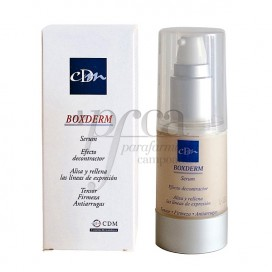 BOXDERM SERUM DECONTRACTOR FACIAL 30 ML.