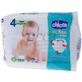 CHICCO FRALDAS DRYFIT T4 8-18KG 19 UNIDADES