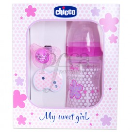 CHICCO MY SWEET GIRL PACK ROSA PROMO