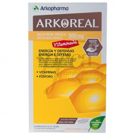 ARKOREAL JALEA REAL VITAMINADA 500 20 AMPULLEN