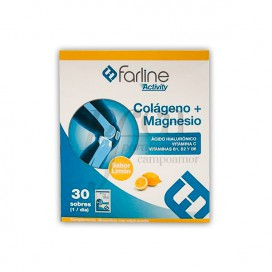 FARLINE COLAGENO + MAGNESIO 30 SOBRES LIMON