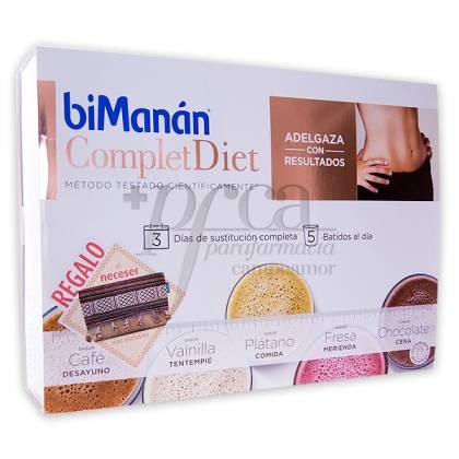 BIMANAN COMPLET DIET 15 SHAKES + GESCHENK PROMO
