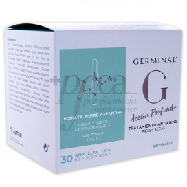 GERMINAL ANTIAGING FPS15 P SECA30 AMPOLLAS