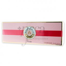 ROGER GALLET ROSE SCENTED SOAP 3 X 100 GR