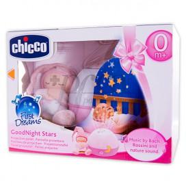 CHICCO GOOD NIGHT STARS 0M+ COR-DE-ROSA