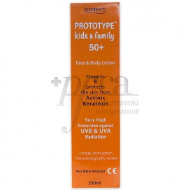 PROTOTYPE KIDS & FAMILY 50+ FACE AND BODY LOTION