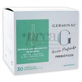 GERMINAL ACCION PROFUNDA PREBIÓTICOS 30 AMPOLAS