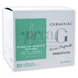 GERMINAL DEEP ACTION PREBIOTICS 30 AMPOULES