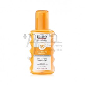 EUCERIN TRANSPARENT SONNEN SPRAY SPF30 200ML
