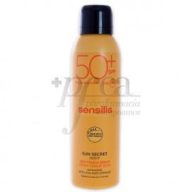SENSILIS SUN SECRET DRY TOUCH SPRAY SPF50 200 ML