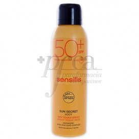 SENSILIS SUN SECR SPRAY DRY SPF50+ 200ML