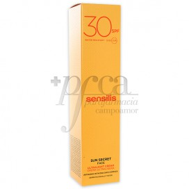 SENSILIS SUN SECRET CREMA SOLAR SPF30 40ML