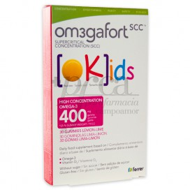 OMEGAFORT OKIDS 30 GOMAS