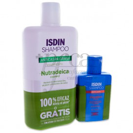 ISDIN NUTRADEICA SHAMPOO 400ML + ZICATION PROMO