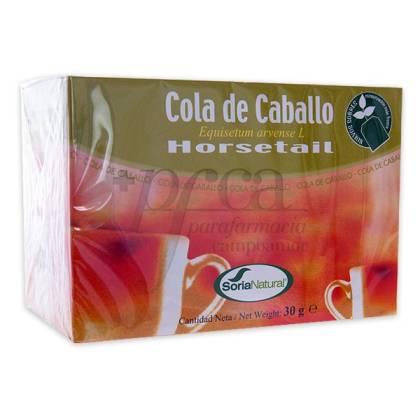HORSETAIL TEA 20 TEA BAGS SORIA NATURAL