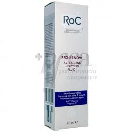 ROC PRO-RENOVE FLUIDO ANTI-IDADE UNIFICANTE 40 ML