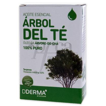 ACEITE ARBOL DEL TE 100% PURO 15ML DDERM