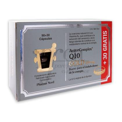 ACTIVECOMPLEX Q10 GOLD 90 + 30 CAPS