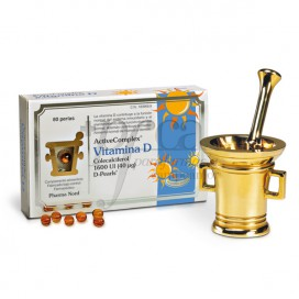 ACTIVECOMPLEX VITAMINA D 1600UI 80 PERLAS