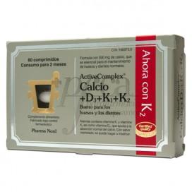 ACTIVECOMPLEX CALCIO D3 K1 K2 60 COMPRIMIDOS