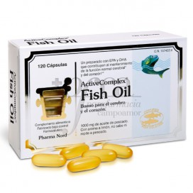 ACTIVECOMPLEX FISH OIL 120 KAPSELN