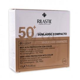 SUNLAUDE MAQUILLAJE COMPACTO 01 LIGHT SPF50+ 10G