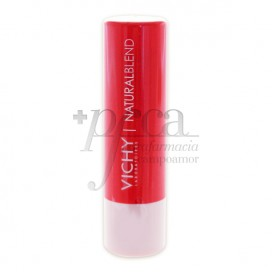 NATURAL LIPS BALSAMO LABIAL HIDRATANTE CON COLOR CORAL 4.5 G