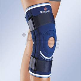 ORLIMAN NEOPRENE KNEE SUPPORT WITH STABILISERS AND STRAPS 4103 SIZE 6