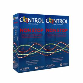CONTROL KONDOME NON STOP 12 EINHEITEN + 12 EINHEITEN PROMO