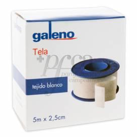 GALENO FITA ADESIVA TECIDO BRANCA 5 M X 2,5 CM