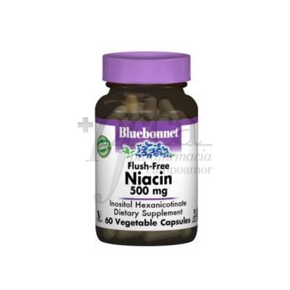 NO FLUSH NIACIN 500MG 50 CAPSULES