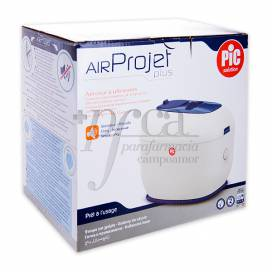 PIC AEROSOL POR ULTRASONIDOS AIR PROJECT PLUS