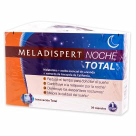 MELADISPERT NOCHE TOTAL 30 KAPSELN + GESCHENK