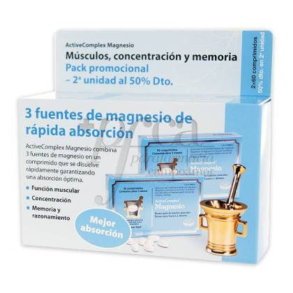 ACTIVECOMPLEX MAGNESIUM 2X60 TABLETTEN PROMO