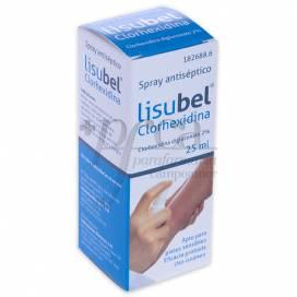 LISUBEL CLORHEXIDINA 2% 25 ML