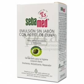 SEBAMED SEIFE FREI OLIVENÖL EMULSION 200 ML