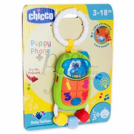 CHICCO PUPPY PHONE 3-18M