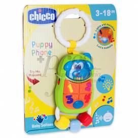 CHICCO PUPPY TELEFONO DE PASEO 3-18M