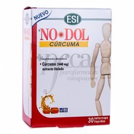 NO DOL CURCUMA 30 NATURCAPS ESI