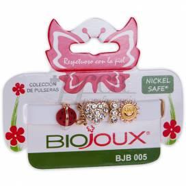 BIOJOUX PULSERA CHARMS BLANCA