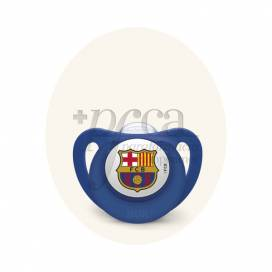 NUK FC BARCELONA CHUPETE SILICONA 6-18M 1U