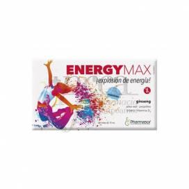 ENERGY MAX 20 VIALS 10ML PHARMASOR