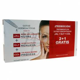 VITAL PLUS ACTIVE JAL+GLY+COL 3X15 ML PROMO