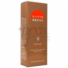 RAPID BRONZ SPF15 CREME BRONCEADORA 100 ML
