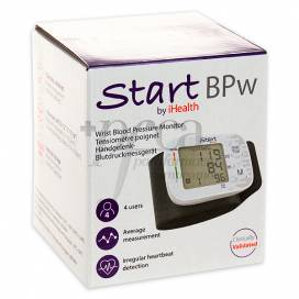 WRIST BLOOD PRESSURE MONITOR START BPW