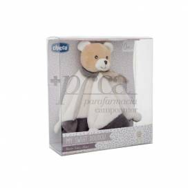 CHICCO BEAR SOFT CUDDLY TOY MY SWEET DOUDOU 0M+