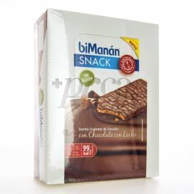 BIMANAN SNACK BARRITA CHOCOLATE CON LECHE 20 UDS
