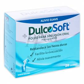 DULCOSOFT POWDER FOR ORAL SOLUTION 20 SACHETS