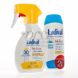 LADIVAL NIÑOS SPF30 200ML + AFTERSUN 200ML PROMO